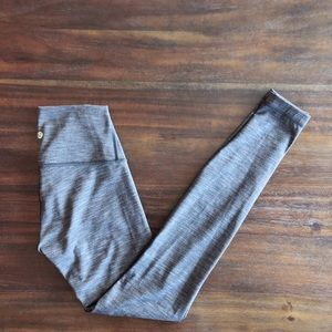 Lululemon heather grey wunder unders